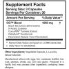 cytoquel supplement facts label