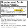 image of CoreBiotic sensitive Supplement Facts