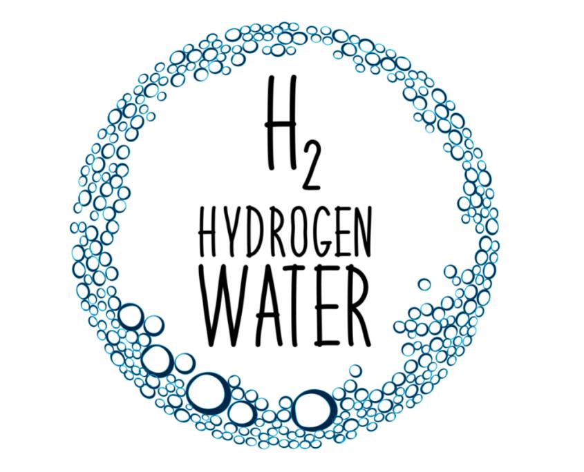 Molecular hydrogen water H2