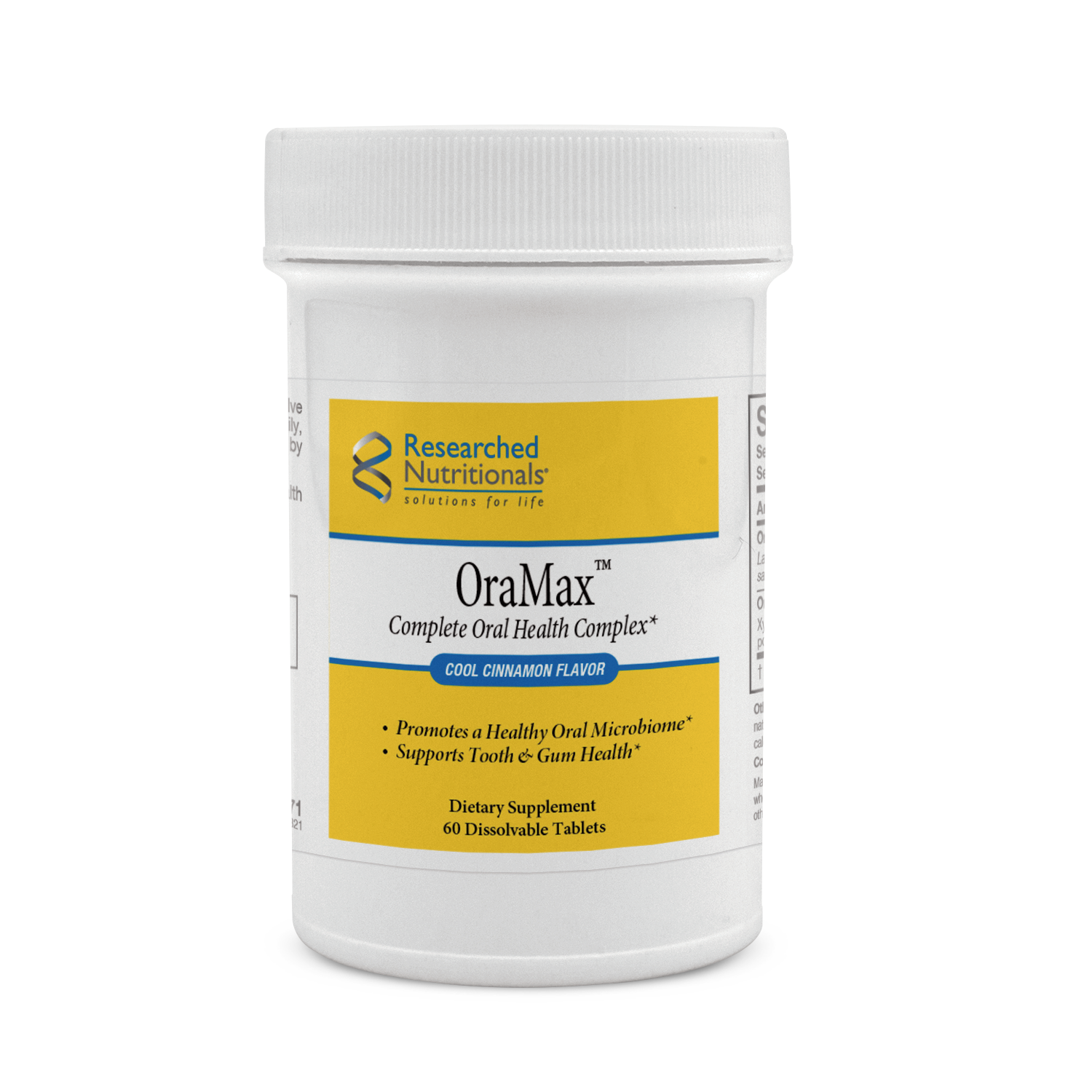 OraMax oral probiotic health complex